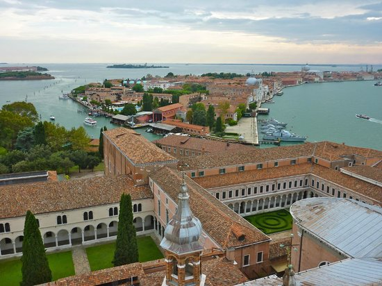 San Giorgio Maggiore: view from bell tower