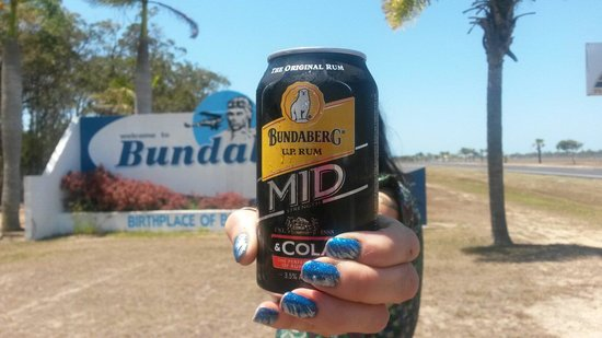 Bundaberg CBD: Needed a cold one when it hit 39 degrees