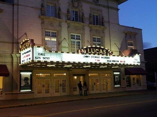 Lucas Theatre For the Arts : Lucas Theatre on Jimmy Stewart Weekend January 2014