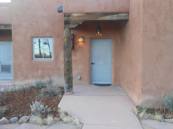 Ojo Caliente Mineral Springs Resort and Spa: our pueblo suite  - ADA compliant
