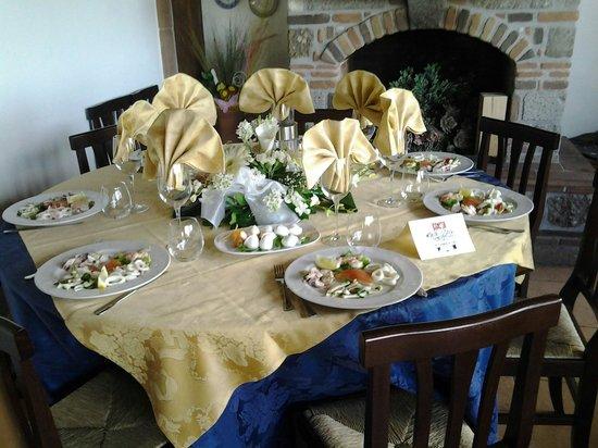 La Torretta: Uno dei nostri tavoli più caldi....;)