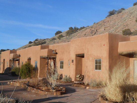 Ojo Caliente Mineral Springs Resort and Spa: cliffside suites