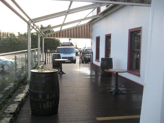 The Point Inn: The deck