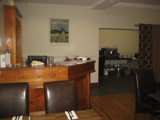 The Point Inn: Restaurant desk