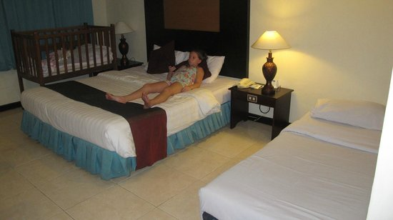 Kuta Beach Club Hotel: room