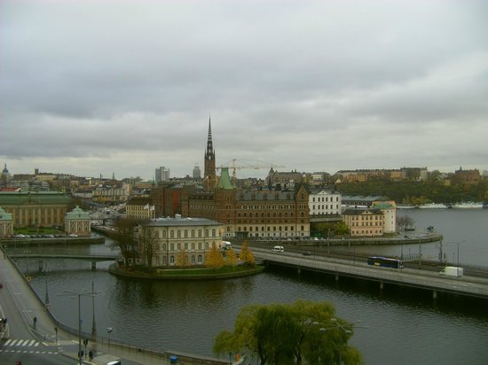 Sheraton Stockholm Hotel: The view from the 8th floor