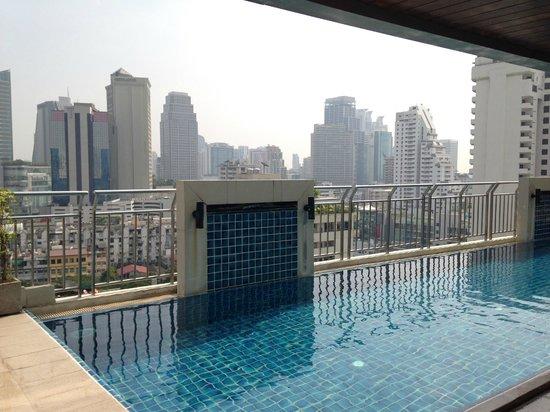 Adelphi Suites Bangkok : Pool