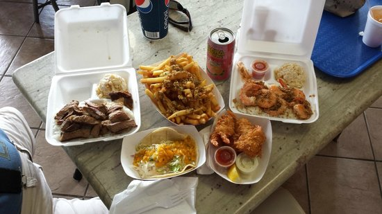 Ono Steaks Lunchwagon : Ono's Steak and Shrimp Shack Meals