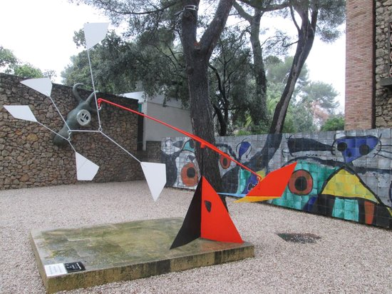Fondation Maeght : sculture parco