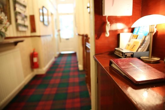 Ecosse International Guesthouse Edinburgh: Business area