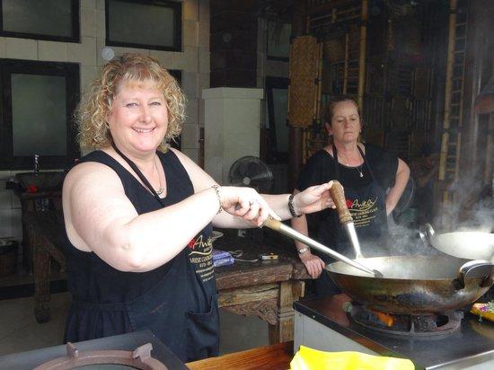 Anika Balinese Cooking Class : Cooking
