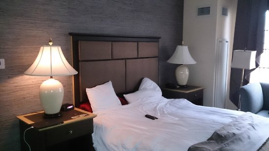 The Whitehall Hotel : Cama confortável