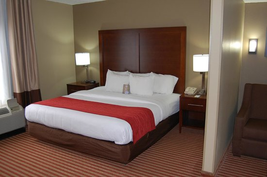 Comfort Inn - Pensacola / N Davis Hwy: King Deluxe with Sofabed