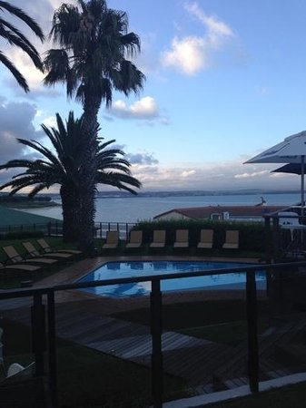 Protea Hotel by Marriott Mossel Bay: view from Pool Area