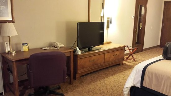 Midway Hotel & Suites Brookfield: TV