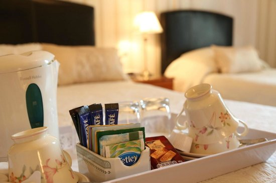 Ecosse International Guesthouse Edinburgh: Rooms with Complimentary tea or coffee