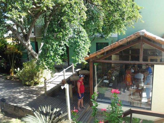 Pousada Bon Vivant: vista do restaurante.