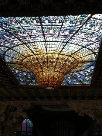 Palau de la Musica Orfeo Catala: o sol