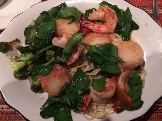 The Inn on Gore Mountain: I got the scallop and shrimp scampi last night it was so good still thinking about it today!