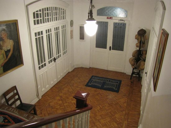 Hotel Casa Gonzalez : Main hall in the old house