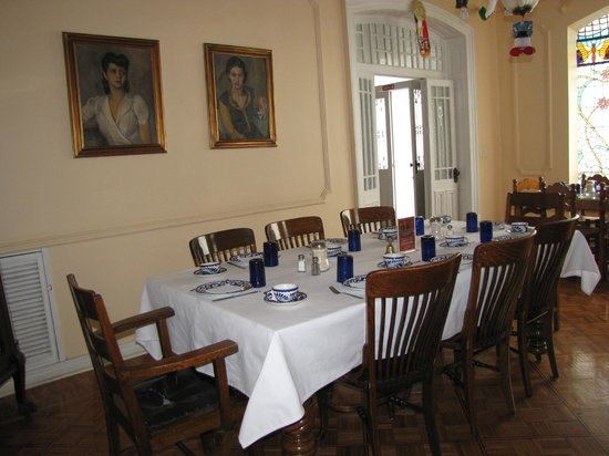 Hotel Casa Gonzalez : Main dining room