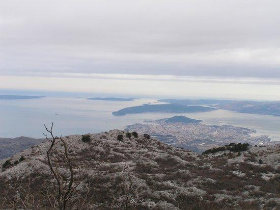 Stobrec, Croatie : mountain view