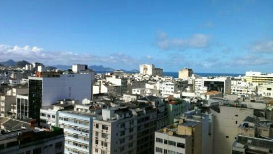 Majestic Rio Palace Hotel: View from atop the roof