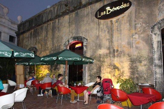 Las Bovedas: The Terrace