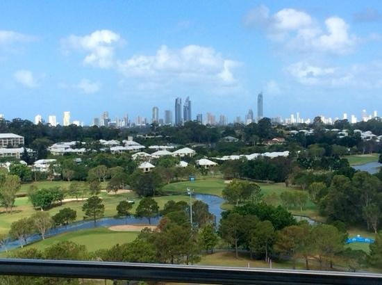 RACV Royal Pines Resort Gold Coast: view from the bed :)