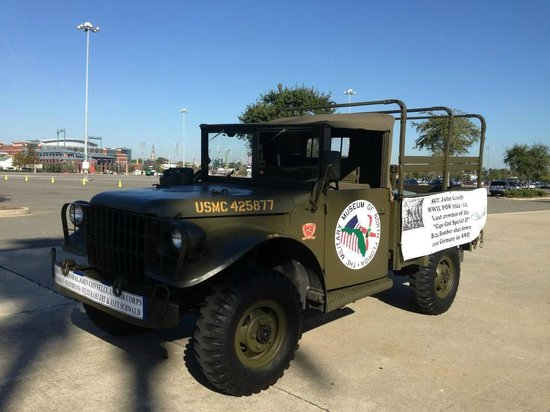 Military Museum of North Florida: M-37 at 2013 Veterens Day Parade in Jacksonville, FL