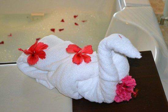 Hard Rock Hotel & Casino Punta Cana: Cute surprises!