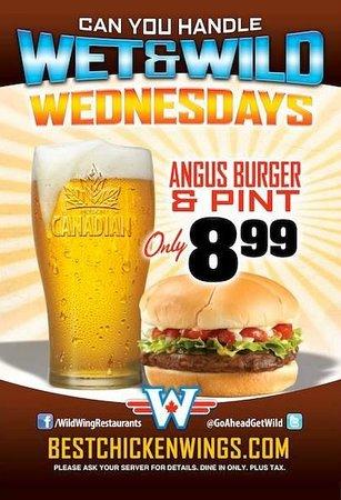 Wild Wing Whistler: Wet n Wild Wednesdays!
