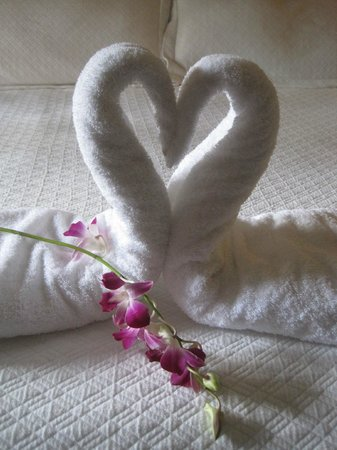 Beaches Negril Resort & Spa : Towel sculpture