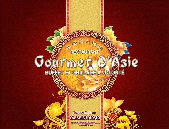 Gourmet d'Asie : Carte