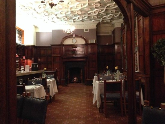 The Orwell Hotel: One of the dinning room