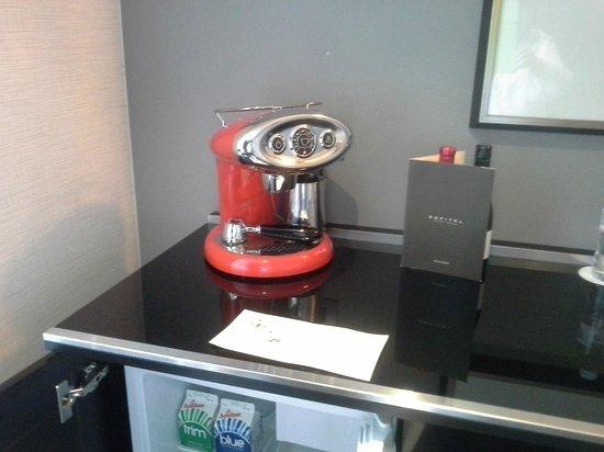 Sofitel Auckland Viaduct Harbour: Coffee machine