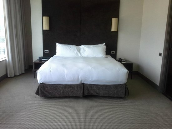 Sofitel Auckland Viaduct Harbour : The most comfortable bed