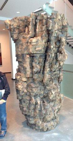 Portland Art Museum: My son's favorite statue