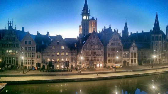 Ghent Marriott Hotel: View from my room