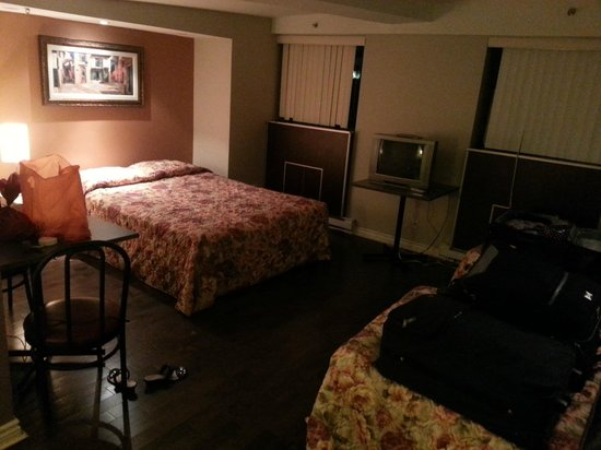 Hotel Le Saint Andre : spacious room