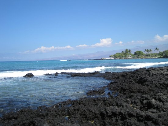Fairmont Orchid, Hawaii: The view from the chair at the waters edge