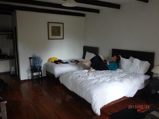 El Albergue Ollantaytambo: Our room..