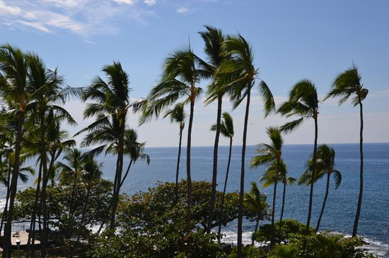 Royal Kona Resort: View from the room