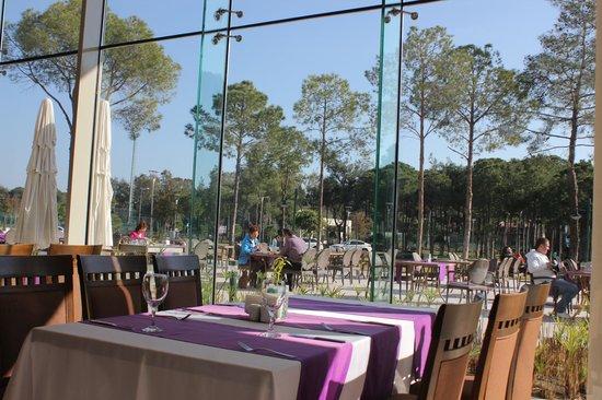 SENTIDO Zeynep Golf & Spa : В ресторане