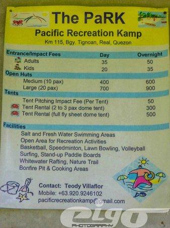 Pacific Recreation Kamp: The PARK