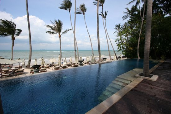 Four Seasons Resort Koh Samui Thailand : Beachside pool