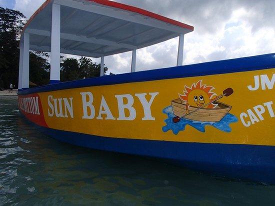 Sunbaby Glass Bottom Boat: Beautiful SUNBABY!