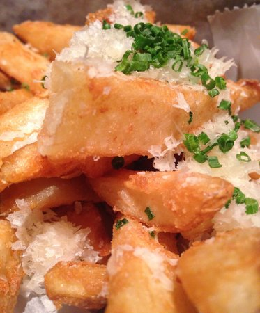 Flame Restaurant : Truffle Parmesan French Fries!