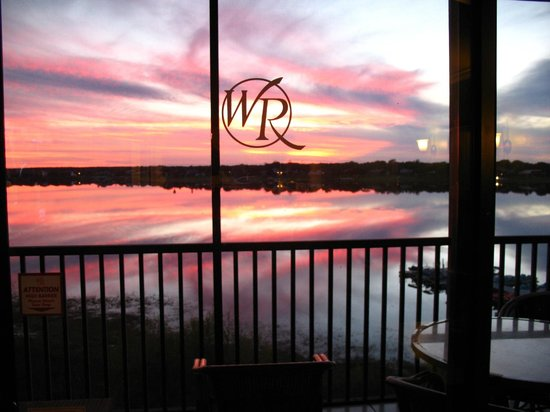 Westgate Lakes Resort & Spa: Beautiful sunset view!