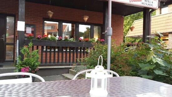 Svenljunga, Sweden: ute servering
